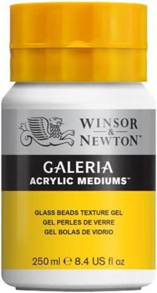 Galeria Akryl Medier Texturgel Glaspärlor Winsor & Newton 250 ml