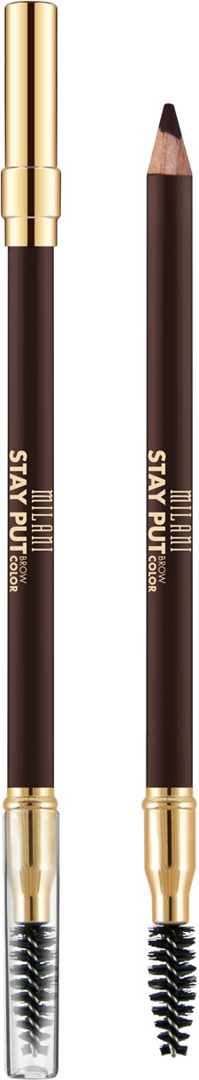 Milani Stay Put Brow Pomade Pencil - Dark Brown