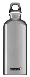 Drikkeflaske, Traveller, 0,6 L, Aluminium, SIGG
