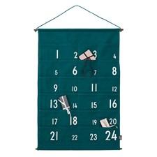 Design Letters Julkalender grön