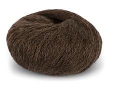 Du Store Alpacka Hexa Garn 50 g Mörk Brun 913