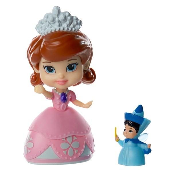 Sofia med vän  10 cm  Disney Sofia den första - dockor & tillbehör