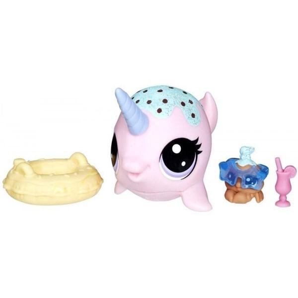 Tidsmæssigt Littlest Petshop set, Narval, Littlest Pet Shop - figurer BK-51