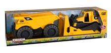 Rugged Machines, Dumper och Hjullastare, CAT