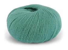 Dale Garn Pure Eco Baby Wool Ekologisk Ull 50 g Turkos 1329
