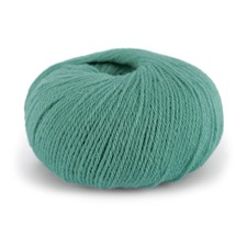 Dale Garn Pure Eco Baby Wool Økologisk Ull 50 g Turkis 1329