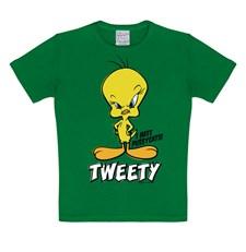 T-Skjorte Looney Tunes Tweety Barn Grønn