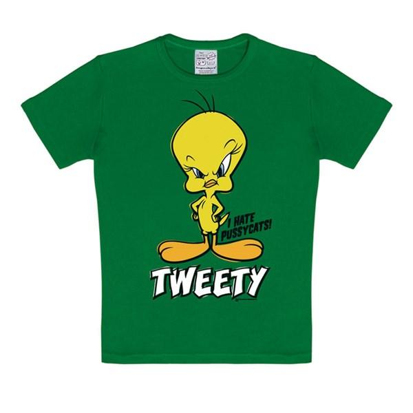 35c21c2b T-Skjorte Looney Tunes Tweety Barn Grønn, Logoshirt.de | Adlibris ...