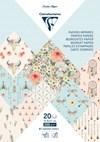 Paperilehtiö, A5, 20 arkkia kuvioilla, Bohème Chic