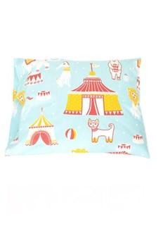 Majvillan Majvillan Cirkus Örngott Ekologisk Bomull 50x60 cm Blå
