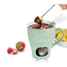Chokladfondue Mugg 3-delar, Grön