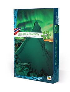 Pussel 1000 bitar, In Green Company, Norge (NO/EN)