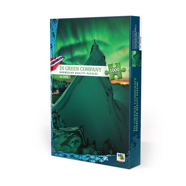 Pussel 1000 bitar, In Green Company, Norge (NO/EN)