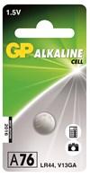 Batteri alkalisk spesial LR44/76A/LR1154/AG13 1,5V