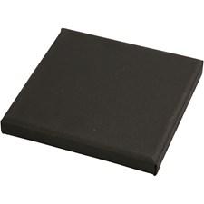 ArtistLine Canvas, str. 15x15 cm, dybde 1,6 cm, 10 stk., svart
