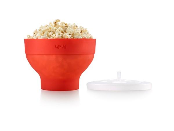 Lékué Popcorn Maker Röd