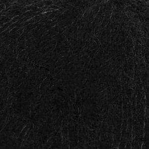 Brushed Alpaca Silk Drops design 25 g black 16