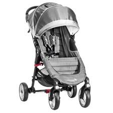 City Mini 4W, Stålgrå, Baby Jogger