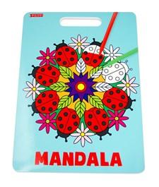 Mandala- malebok 24 bilder