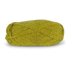 Du store Alpacka Tynn Garn 50 g Gulgrön Melange 116