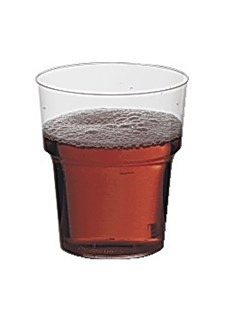 Plastglas Hårda 24 cl 25 st