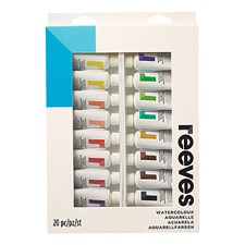Reeves Akvarellfarger 20 stk. x 22ml
