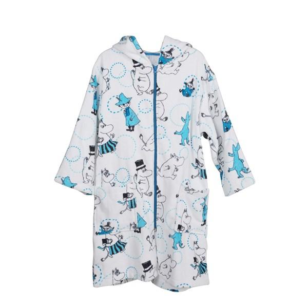 Badrock Circus Vit  Blå  storlek 98-104  Mumin - badkläder & uv-kläder