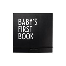 Design Letters Babyns första bok Svart