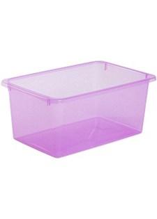 Säilytyslaatikko Store It 5 L läpinäkyvä Vaaleanpunainen.