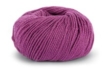 Knit At Home Classic Cotton Merino Garn Ullmix 50 g Cerise 824