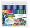 Tuschpennor Staedtler Noris Club® 20-pack