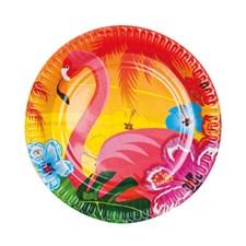 Tallrikar Flamingo 6-pack
