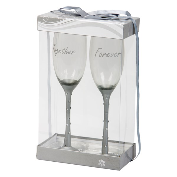 Champagneglass Together Forever