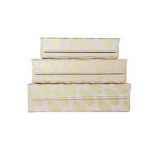 Förvaringsboxar Palm Pink 3-set