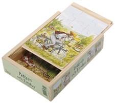 Findus och Pettson 4x träpussel