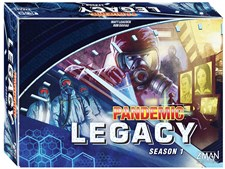 Pandemic Legacy, Blue, Season 1, English version