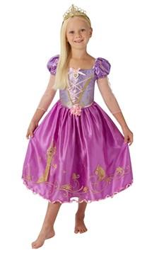 Maskeraddräkt Rapunzel Storyteller, Strl 104-128, Rubies