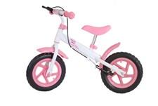 Springcykel med rosa broms, Evadäck