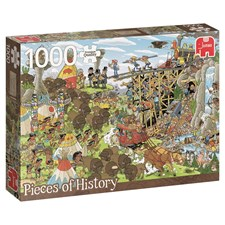 Rob Derk History Puzzle, Wild West, Puslespill, 1000 brikker