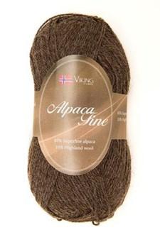 Viking of Norway Alpaca Fine 50 gr Brun 608