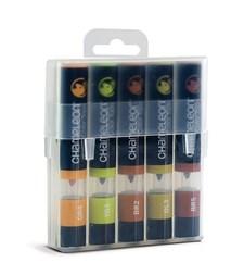 Chameleon Color Tops Pen Marker Tushpennor - Earth Tones