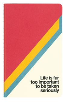 Notatbok i sten, Soft Cover, Mini, Life is, Blank