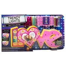 Styla din egen lampa, LOVE, Trendy Lights