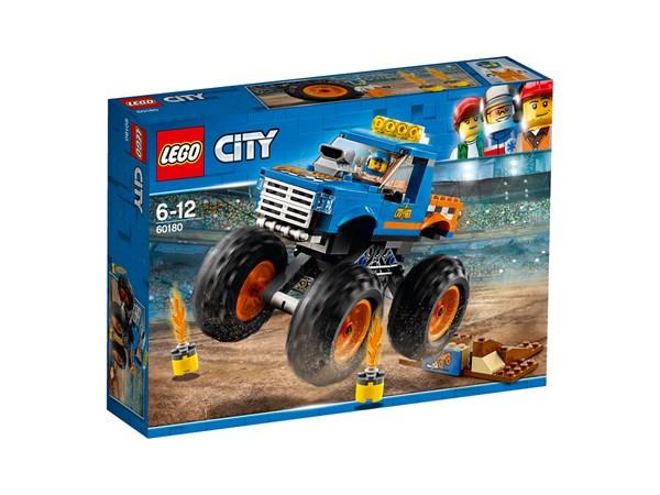 Monstertruck, LEGO City Great Vehicles (60180)