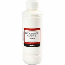 Decoupagelakk, blank, 250ml