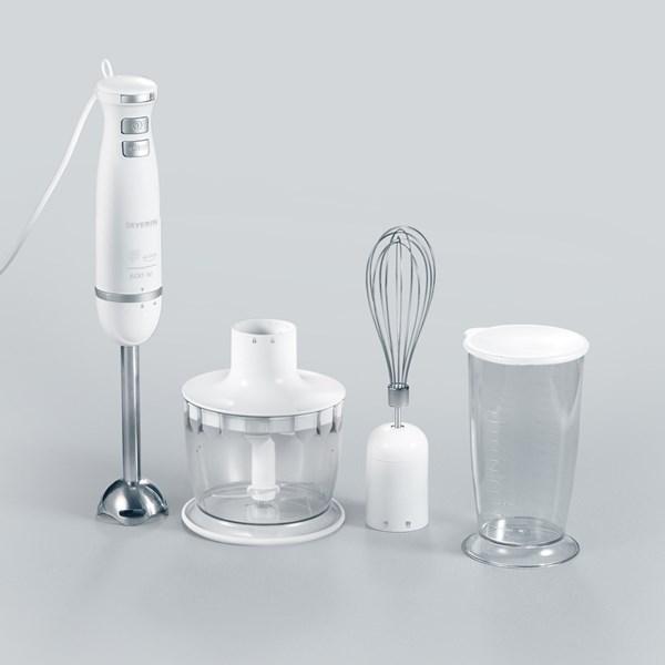 Severin Stavmixer set Vit (hvit) - mixer & blender