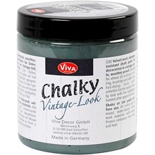 Chalky Vintage Look -maali, 250 ml, dark green (702)