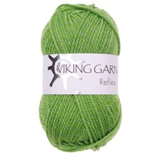 Viking of Norway Reflex Garn Ullmix 50g Grön 431