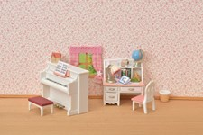 Set med piano & skrivbord, Sylvanian Families