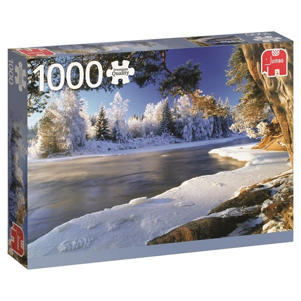 Puslespill, Dalälven i Sverige, 1000 brikker, Jumbo